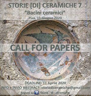 """STORIE (di) CERAMICHE 7, """"Bacini ceramici"""" - locandina."""