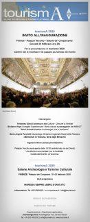 tourismA 2020, invito all'inaugurazione.