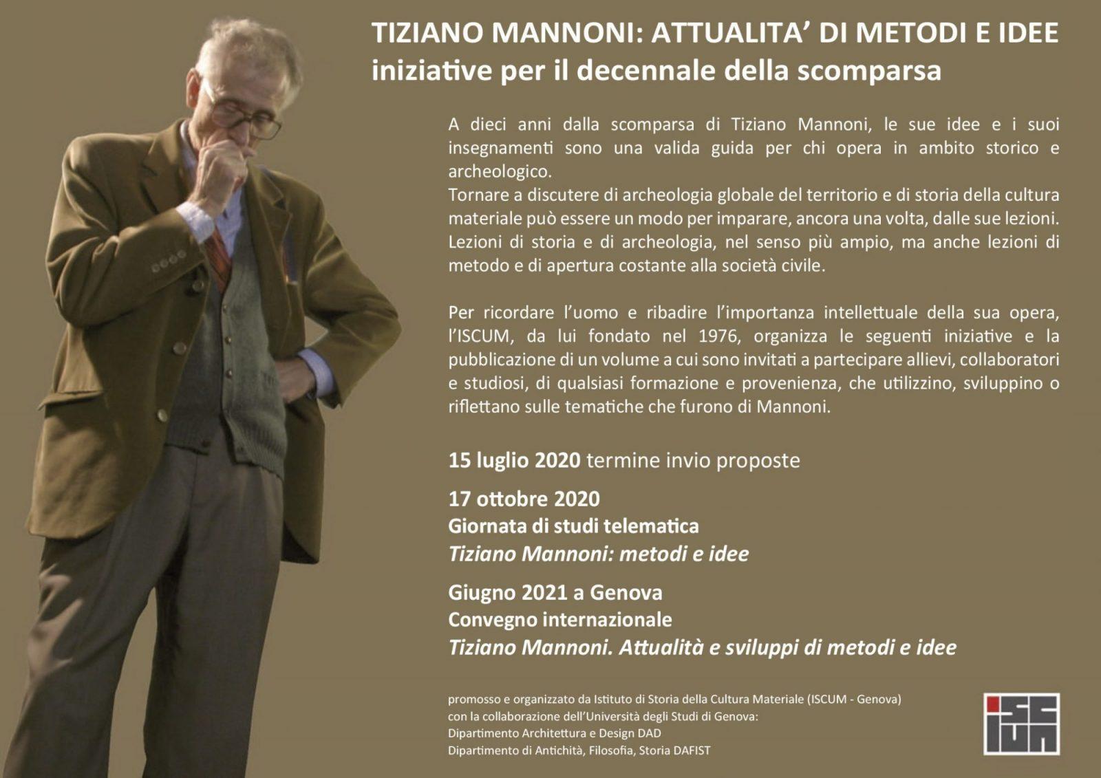 Tiziano Mannoni, 2020-2021.