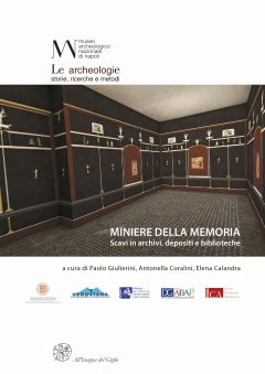 Miniere della memoria. Scavi in archivi, depositi e biblioteche, copertina.