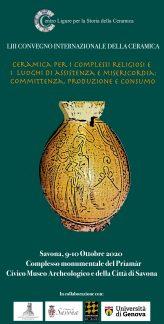 Convegno Internazionale della Ceramica, Savona 2020.