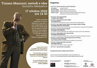 Tiziano Mannoni: metodi e idee
