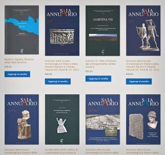 """SAIA, arretrati """"Annuario"""" e volumi """"Monografie"""", ante 2016."""