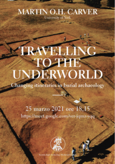 Travelling to th Underworld, poster 2021.