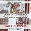 Call for papers, Storie [di] ceramiche 8.