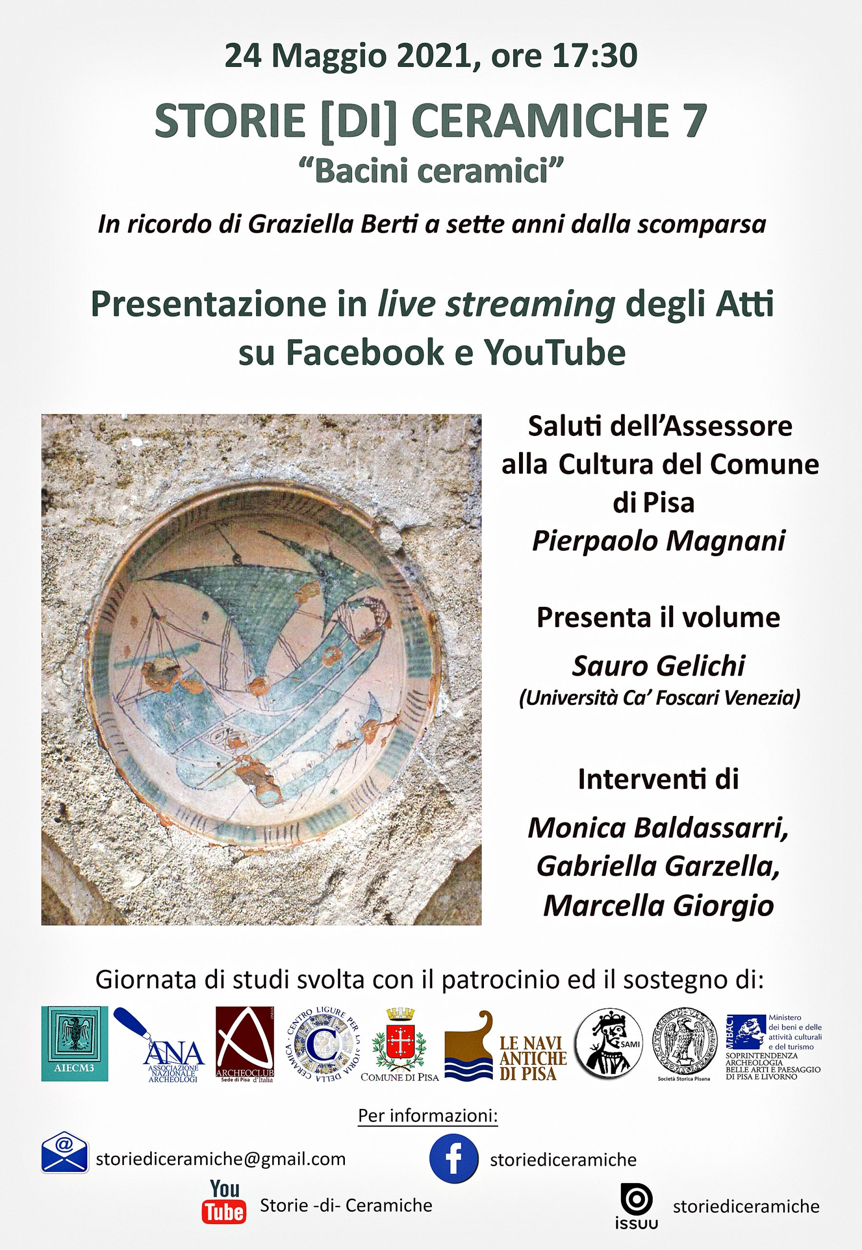 Storie [di] Ceramiche 7, Presentazione, maggio 2021, locandina.