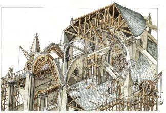 Archeologia del cantiere edile, locandina.