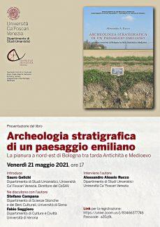 Archeologia stratigrafica, locandina della presentazione.
