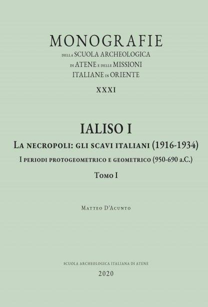 Ialiso, I, tomo 1, copertina.