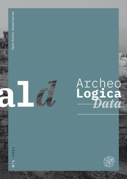 ArcheoLogica Data, 1, 2021, copertina.