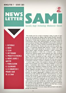 SAMI Newsletter – Luglio 2021, prima pagina.