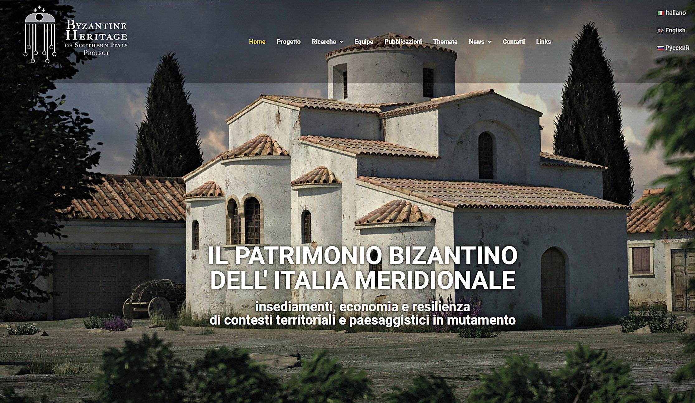 Il patrimonio bizantino dell'Italia meridionale.