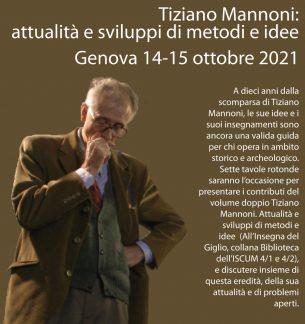 Tiziano Mannoni, convegno 2021.