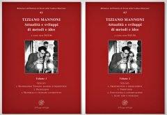 Tiziano Mannoni. Attualità e sviluppi di metodi e idee. Volumi 1 e 2, copertina.