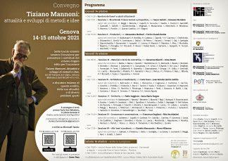 Tiziano Mannoni attualità e sviluppi di metodi e idee - Genova ottobre 2021